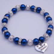Maid Of Honour Bracelet - Sparkle & Bling Style